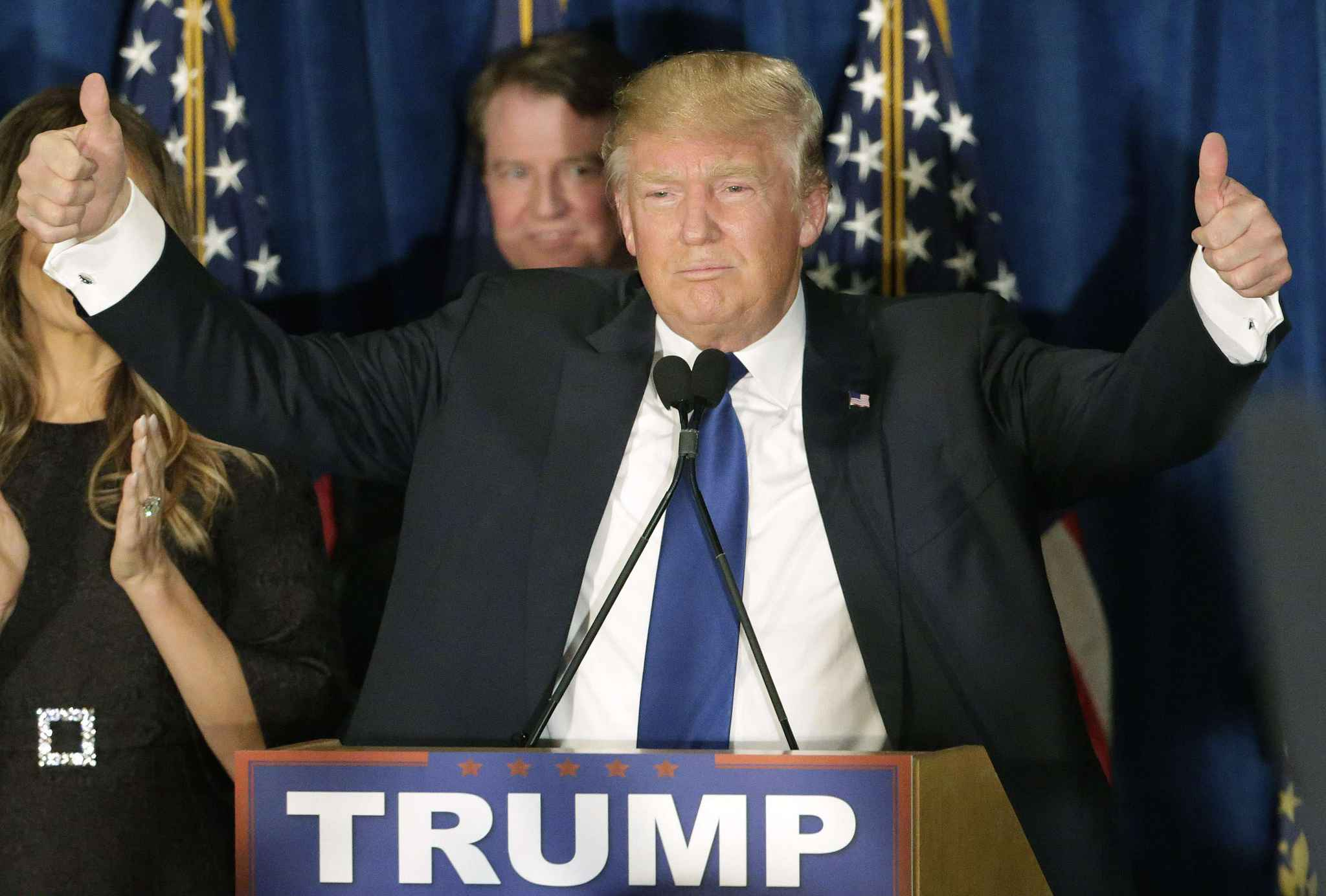 Image result for trump victorieux