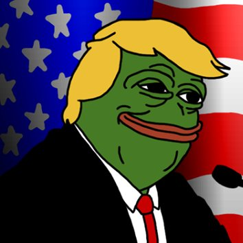 Image result for pepe trump