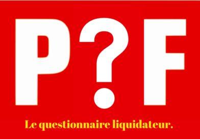 Vox populi, vox Dei ? Le questionnaire liquidateur du PCF.