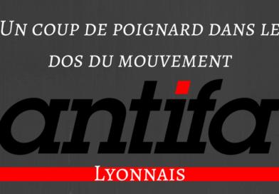 Interdiction de la manifestation antifasciste et anticapitaliste. Un coup de poignard.