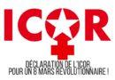 Appel de l'ICOR à l'occasion de la journée internationale des femmes.