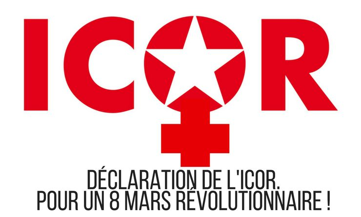 Appel de l'ICOR à l'occasion de la journée internationale des femmes.