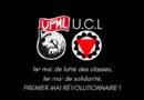 1er Mai Déclaration commune de l'UPML et de l'UCL