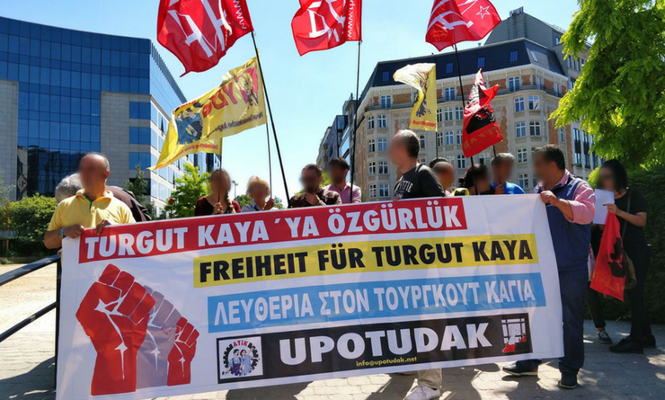 Résolution commune de l'UPML et de l'UCL pour exiger la libération de Turgut Kaya et de Hidir Gönek