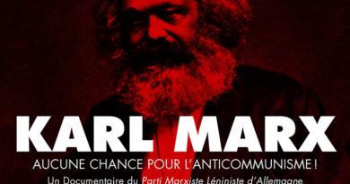 Projection débat du film «Aucune Chance pour l'Anticommunisme !»