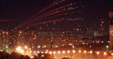 20ème anniversaire de l'attaque contre la République Fédérale de Yougoslavie.