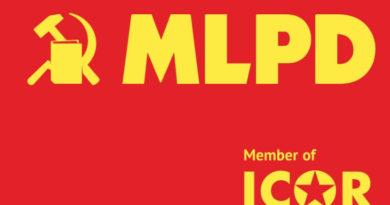 Solidarité avec le MLPD