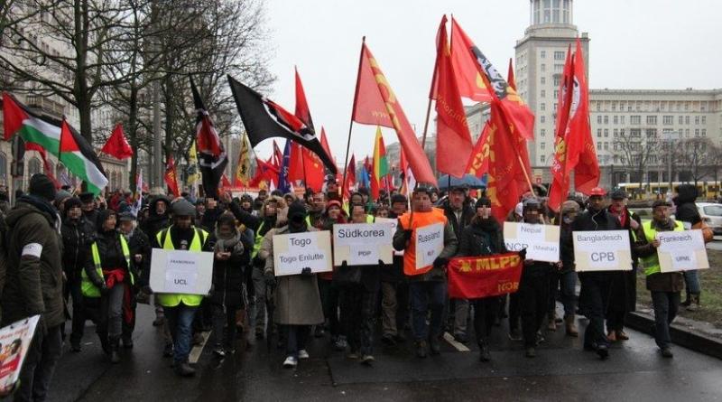 Communiqué de l'Unité Communiste de Lyon sur la manifestations des 3L (Luxembourg, Liebknecht, Lénine) à Berlin.