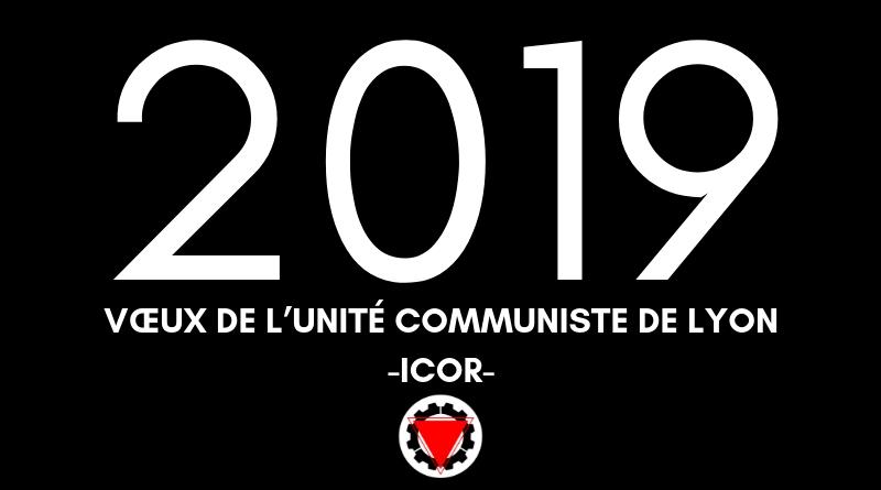 Vœux de l'Unité Communiste de Lyon