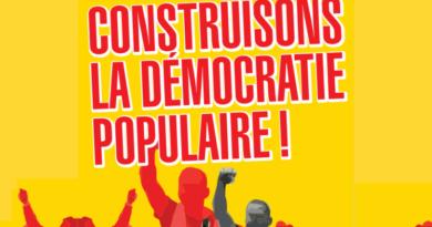 Construire la démocratie populaire!