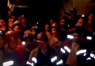 Grève souterraine en Ukraine!