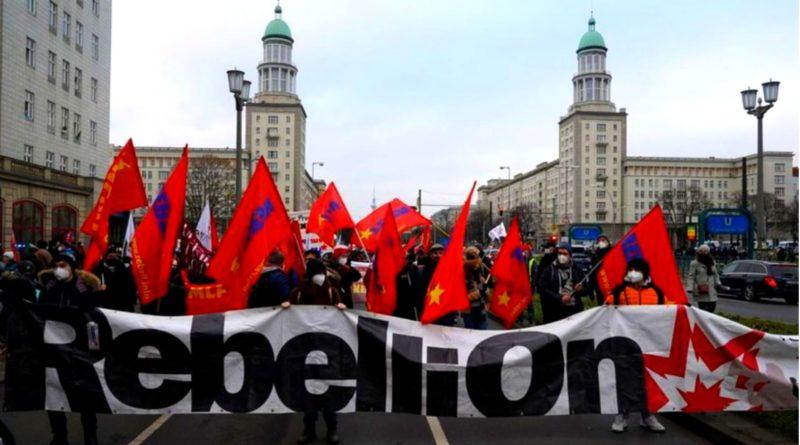 Vive Les 3L -Luxembourg – Liebknecht – Lénine- à bas la répression!