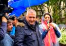 Lyon: Anti-masques et antivaccins défilent.