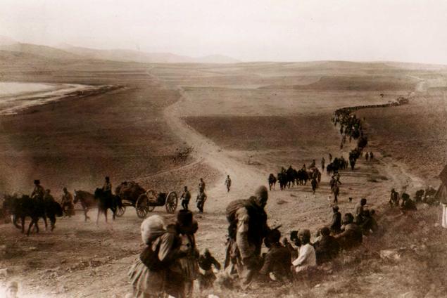 106e anniversaire du génocide des Suryoye, Arméniens et Grecs de Pontos, commis par l'Empire ottoman en 1915.