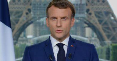 Macron a parlé