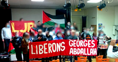 Soirée de solidarité avec Georges Abdallah.