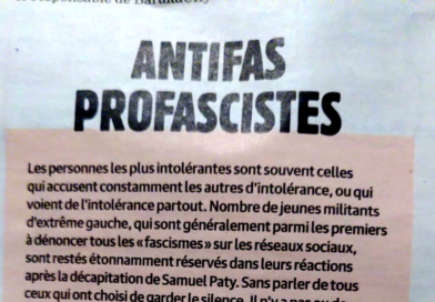 Une réponse à «Antifas Profascistes» de Charlie Hedbo.